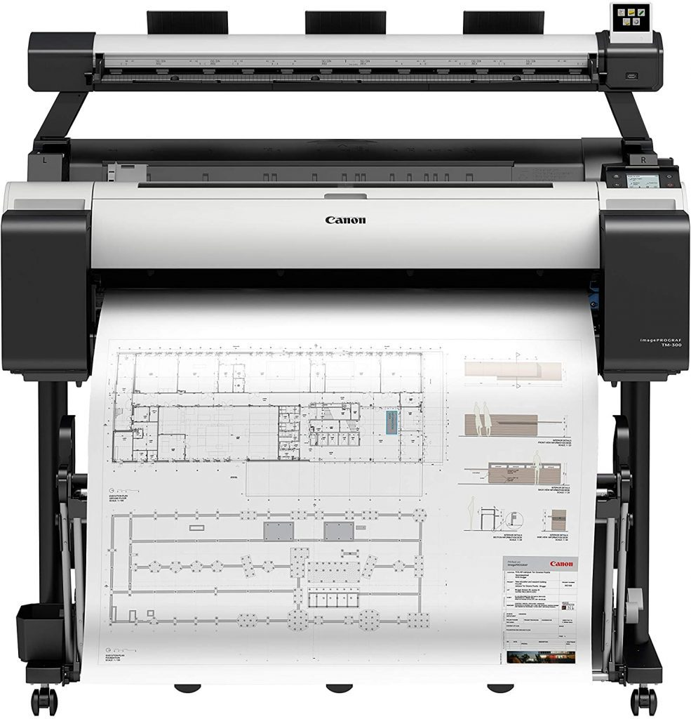 plotter canon tm 300